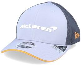 McLaren Special Edition Abu Dhabi 9Fifty Stretch Snap Grey Trucker - New Era