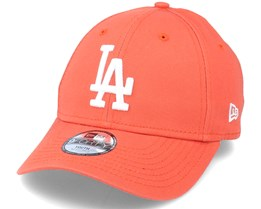 Kids Los Angeles Dodgers League Essential 9Forty Orange/White Adjustable - New Era