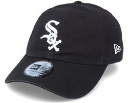 Chicago White Sox Washed Dad Cap Casual Classic 9Twenty Black Adjustable - New Era