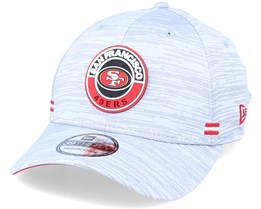 San Francisco 49ers NFL 20 On Field Road 39Thirty Grey Flexfit - New Era
