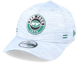 New York Jets NFL 20 On Field Road 39Thirty Grey Flexfit - New Era