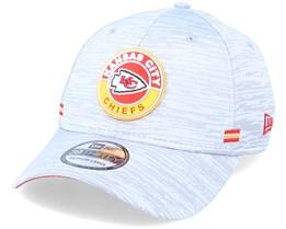 Kansas City Chiefs NFL 20 On Field Road 39Thirty Grey Flexfit - New Era