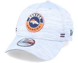 Denver Broncos NFL 20 On Field Road 39Thirty Grey Flexfit - New Era