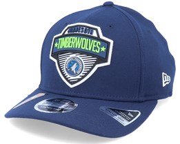 Minnesota Timberwolves NBA 20 Tip Off 9Fifty Navy Adjustable - New Era
