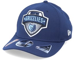 Memphis Grizzlies NBA 20 Tip Off 9Fifty Navy Adjustable - New Era