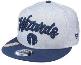 Washington Wizards NBA 20 Draft 9Fifty Heather Grey/Navy Snapback - New Era