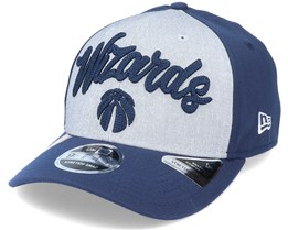 Washington Wizards NBA 20 Draft 9Fifty Stretch Snap Grey/Navy Adjustable - New Era