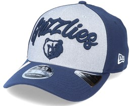 Memphis Grizzlies NBA 20 Draft 9Fifty Stretch Snap Grey/Navy Adjustable - New Era