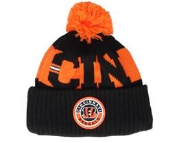 Cincinnati Bengals NFL 20 On field Sport Knit OFC Black Pom - New Era