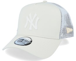 New York Yankees League Essential 9Forty A-Frame Stone/White Trucker - New Era