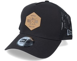 Heritage Patch 9Forty A-Frame Black Trucker - New Era