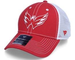 Washington Capitals Capitals Sport Resort Struct Athl Red/White Trucker - Fanatics