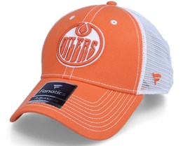 Edmonton Oilers Sport Resort Struct Dark Orange Trucker - Fanatics