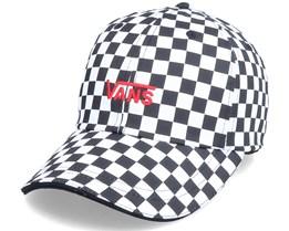 W Core Acessories Black/White Checkerboard Dad Cap - Vans