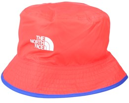Sun Stash Hat Red/Blue Bucket - The North Face