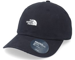 Washed Norm Hat Black Dad Cap - The North Face