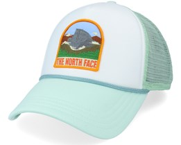 Valley White/Mint Trucker - The North Face