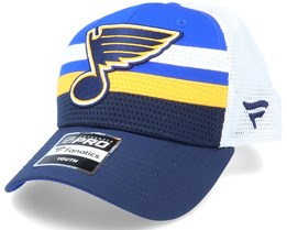 Kids St. Louis Blues NHL Draft Home Structured Blue/White Trucker - Fanatics