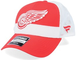 Kids Detroit Red Wings NHL Draft Home Structured Red/White Trucker - Fanatics