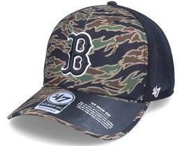 Boston Red Sox Drop Zone Mesh Mvp Dp Tiger Camo/Black Trucker - 47 Brand