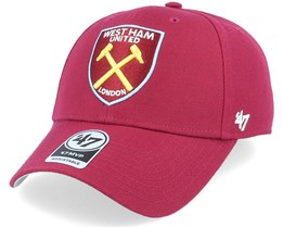 West Ham Mvp Cardinal Red Adjustable - 47 Brand
