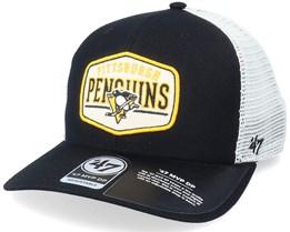 Pittsburgh Penguins Shumay Mvp Dp Black/White Trucker - 47 Brand