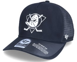 Anaheim Ducks Level Mesh Mvp Dv Black Trucker - 47 Brand