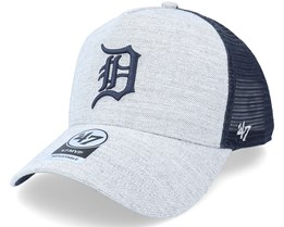 Detroit Tigers Storm Cloud Mesh Mvp Dt Charcoal/Navy Trucker - 47 Brand