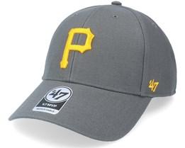 Pittsburgh Pirates Mvp Charcoal Adjustable - 47 Brand
