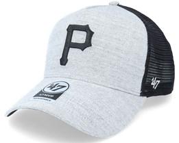Pittsburgh Penguins Storm Cloud Mesh Mvp Dt Charcoal/Black Trucker - 47 Brand