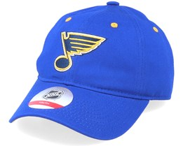 Kids St. Louis Blues Team Slouch Blue Dad Cap - Outerstuff