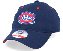 Kids Montreal Canadiens Team Slouch Navy Dad Cap - Outerstuff