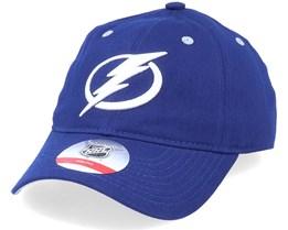 Kids Tampa Bay Lightning Team Slouch Dark Blue Dad Cap - Outerstuff