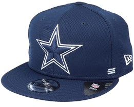 Dallas Cowboys NFL 20 Side Lines Home Em 9Fifty OTC Navy Snapback - New Era
