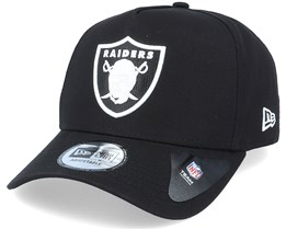 Hatstore Exclusive x Las Vegas Raiders Black Inverted A-frame