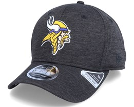Minnesota Vikings Total Shadow Tech 9Fifty Black Adjustable - New Era