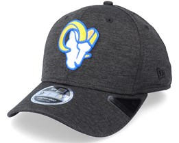 Los Angeles Rams Total Shadow Tech 9Fifty Black Adjustable - New Era