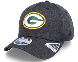 Green Bay Packers Total Shadow Tech 9Fifty Black Adjustable - New Era