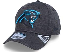 Carolina Panthers Total Shadow Tech 9Fifty Black Adjustable - New Era
