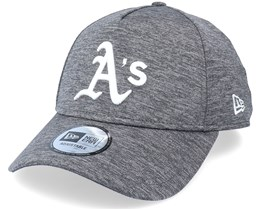 Oakland Athletics Tonal Team Heather Grey Adjustable - New Era