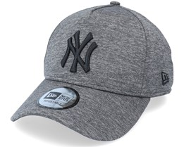 New York Yankees Tonal Team Heather Grey/Black Adjustable - New Era