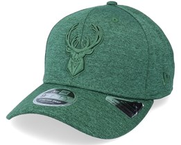 Milwaukee Bucks Tonal 9Fifty Heather Green Adjustable - New Era
