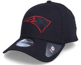 New England Patriots Tonal 39Thirty Black Flexfit - New Era