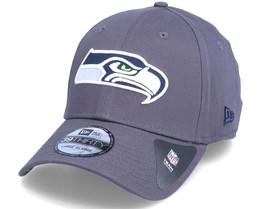 Seattle Seahawks NFL Team 39Thirty Dark Grey Flexfit - New Era