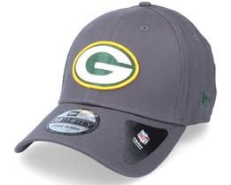 Green Bay Packers NFL Team 39Thirty Dark Grey Flexfit - New Era