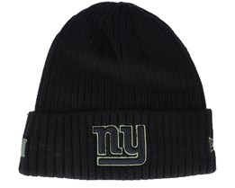 New York Giants Salute To Service NFL 20 Knit Black Cuff - New Era
