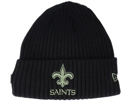 New Orleans Saints Salute To Service NFL 20 Knit Black Cuff - New Era