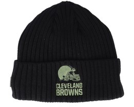 Cleveland Browns Salute To Service NFL 20 Knit Black Cuff - New Era