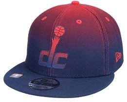 Washington Wizards 9FIFTY NBA20 Back Half Navy/Red Snapback - New Era