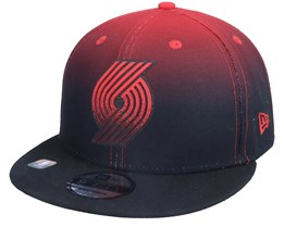 Portland Trail Blazers 9FIFTY NBA20 Back Half Black/Red Snapback - New Era